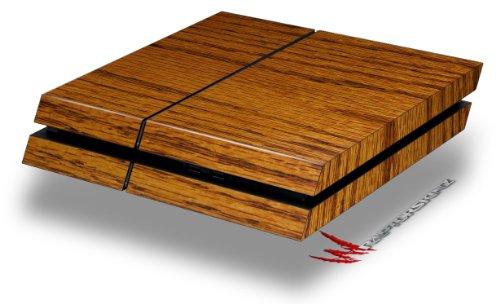 WraptorSkinz Wood Grain - Oak 01 - Decal Style Skin fits original PS4 Gaming Console (Ps4 Wood Grain Skins)