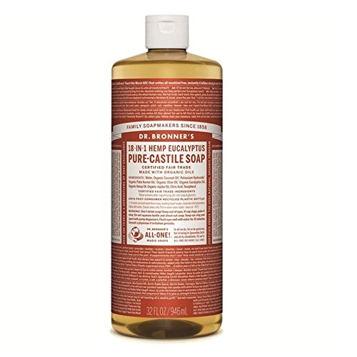 のブロナー有機ユーカリカスティーリャ液体石鹸946ミリリットル x2 - Dr Bronner Organic Eucalyptus Castile Liquid Soap 946ml (Pack of 2) [並行輸入品] B071YPCDDC