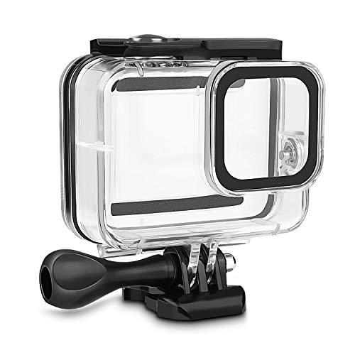 Homasen Waterproof Case for GoPro Hero 8, 60Meter Underwater Protective Housing Case for Hero 8 2019 Action Camera, with Mount and Thumbscrew Accessories