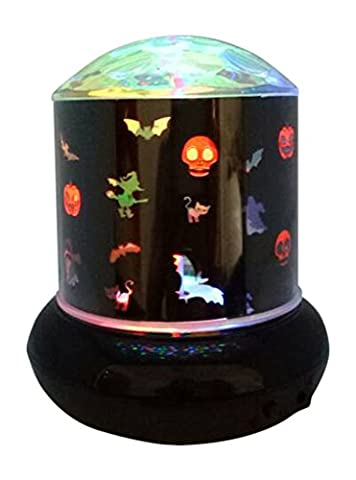 Lightahead LED Starlight Halloween Motif Night Lighting Lamp Battery Operated LED Decorative Light with different Patterns LED Starry Night Sky Lamp