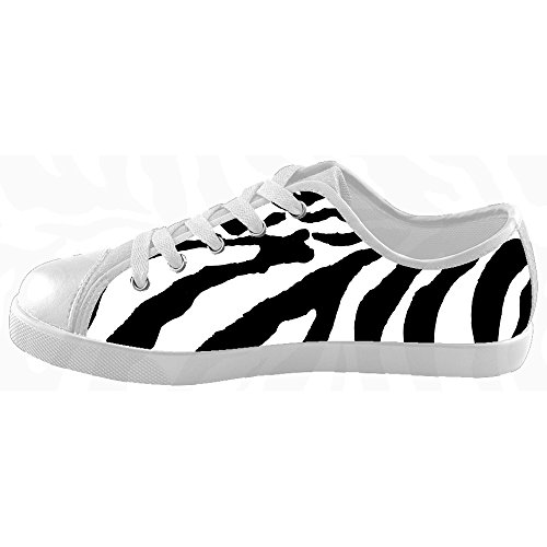 Custom zebra di stampa Kids Canvas shoes Le scarpe le scarpe le scarpe.