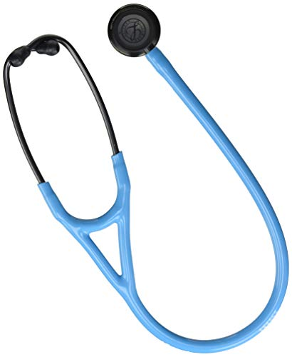 3M Littmann Stethoscope, Cardiology IV, Turquoise Tube, Smoke Chestpiece, 27 inch, 6171