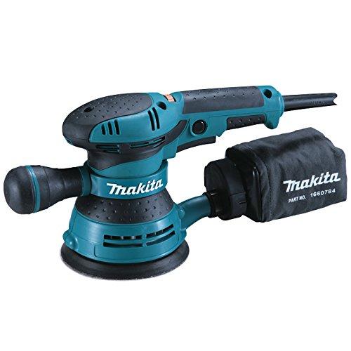 Makita Ponceuse excentrique diam/ètre 125 mm avec coffret et poign/ée lat/érale BO5041K
