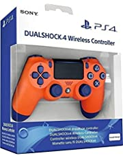 وحدة تحكم سوني لاسلكي دوال شوك 4 لجهاز بلاي ستيشن 4 - برتقالي، اصدار خاص