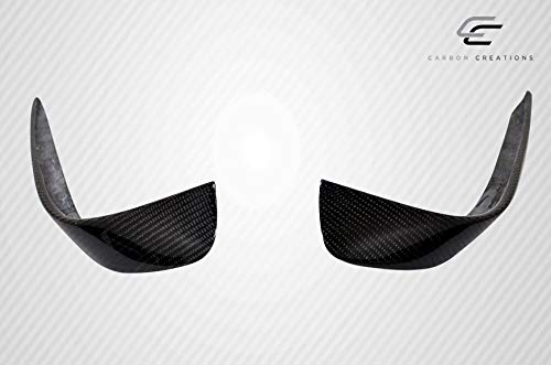 Carbon Creations Replacement for 2014-2015 Mercedes CLA Class Black Series Look Wide Body Front Bumper Accessories - 6 Piece by Carbon Creations (Image #7)