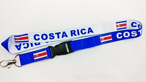 Reversible Lanyard - Costa Rica Reversible Lanyard (1)