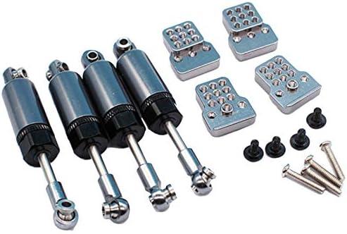 Nrpfell Upgrade Metal Suspension Kit 4Pcs STO?D?Mpfer und Basen f/ür WPL C14 B24 RC LKW RC Autoteile C24 f/ür JJRC B14
