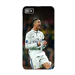 Cover It Up - Cristiano Goal BlackBerry Z10 Hard Case