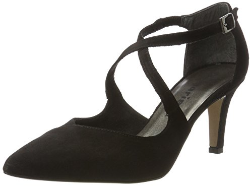 Tamaris Damen 24410 Pumps Schwarz (Black 001)
