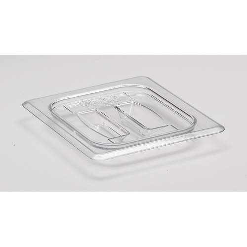 Cambro 60CWCH110 Cold Food Pan Cover with Handle Sixth-Size Camwear Pans ()