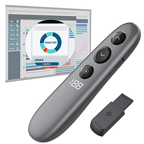Top logitech spotlight presentation remote, slate 910-004654 for 2019