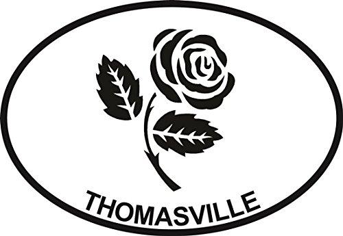 rose-thomasville-euro-oval-bumper-sticker