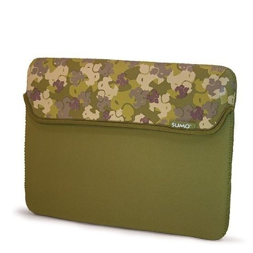 Sumo ME-SUMO66109 10/11.6-Inch Camo Netbook Sleeve (Green) (E Fun Netbook)