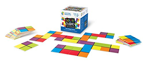 41mTTcWmW5L - Learning Resources Color Cubed Strategy Game