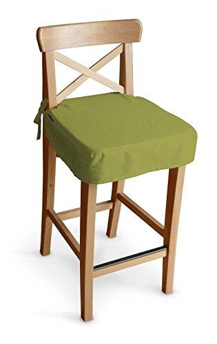 Dekoria IKEA Ingolf Sgabello Sedile Pad, satinato, colore: verde ...