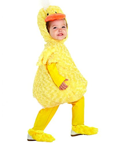 Underwraps Kid's Underwraps Baby's Duck Costume, Large Childrens Costume, yellow, (Chick Costume)