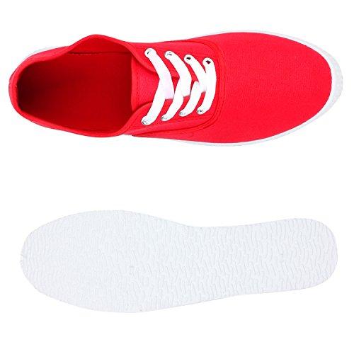 Sneaker Unisex Red Übergrößen Herren Rot Flandell Slip Ons Damen Stiefelparadies qpFTw7t7