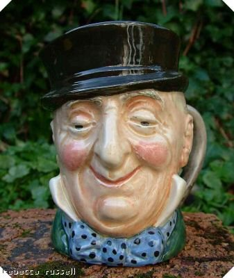 Royal Doulton Toby Jug Character Jug Micawber D5843