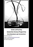 Gratis training gedachten analyse programma: De (r)evolutie van het denken