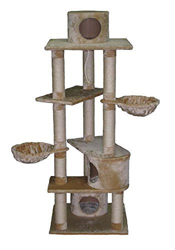 1. Go Pet Club Cat Tree - Best for All Around Fun