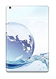 For Ipad Case, High Quality Globe Floating On Water For Ipad Mini/mini 2 Cover Cases by icecream design