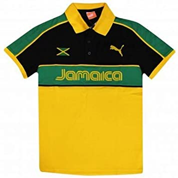 unique design good texture finest selection Jamaica Official Polo Shirt by PUMA (Adults)