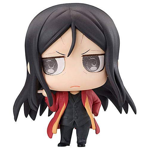 Fate Grand Order Petit Chara! Chimi Waver Caster Zhuge Liang (Lord El-Melloi II) Character Mini Figure Vol.2 Swirly Eye Ver. Collection Anime -
