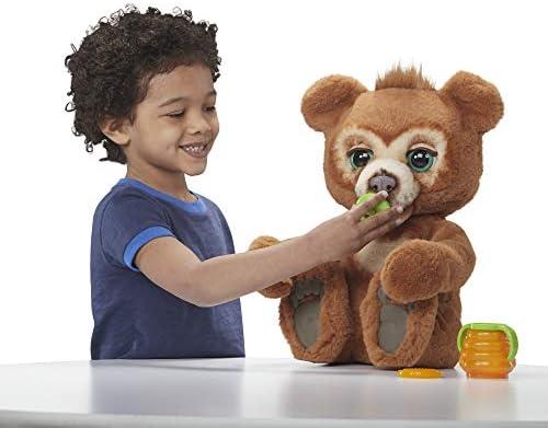 Hasbro FurReal- Cubby Il Mio Orsetto Curioso Peluche Interattivo, Multicolore, E4591EU4