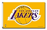 Rico Industries NBA Los Angeles Lakers 3-Foot by 5-Foot Single Sided Banner Flag with Grommets