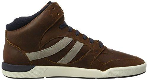 BOSS Casual Herren Stillnes_Hito_PP 10201493 01 Hohe Sneaker Braun (Medium Brown)
