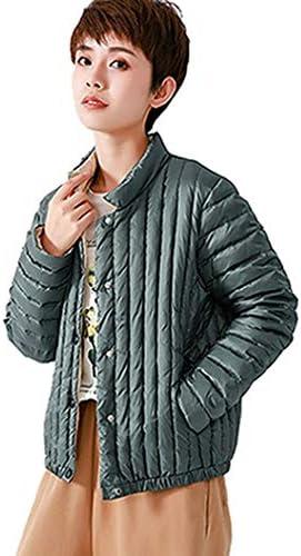 レディースコート レディース ダウンコート スタンドカラー ボタントップス コート 軽い 薄い 柔らかい ダウン ジャケット ショートコート 暖かい ウルトラライト 防風 防寒 春秋冬 ダウントップス カジュアル