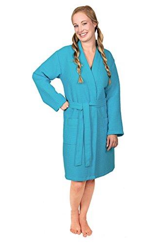 Moda de baño para mujer isako - 3701 - chaqueta sin capucha en calidad piquee# turquesa