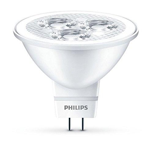 6 opinioni per Philips Lampadina LED Faretto GU5.3, 2.8 W Equivalenti a 20 W, Luce Bianca