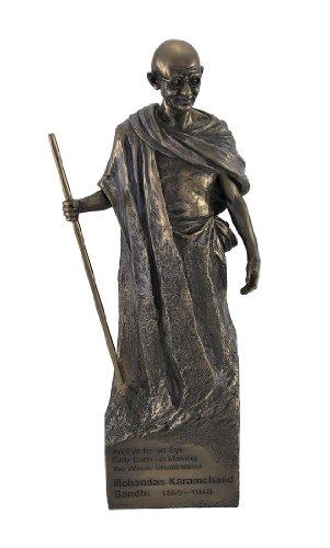 Veronese Design Bronzed Mohandas Mahatma Gandhi Statue
