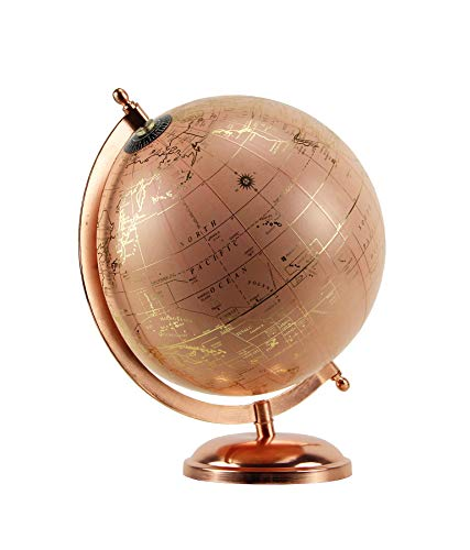 (Habitat Pink and Rose Gold Globe Tabletop Decor,)