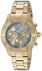 Invicta Women's 21612 Angel Analog Display Swiss Quartz Gold Watch