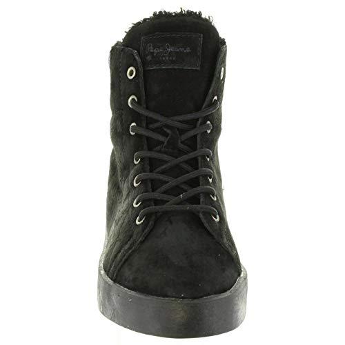 999 Stivaletti Jeans Per Donna Pepe Black Brixton Pls30774 UZ6qzwn