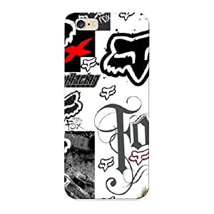 Traveling High-quality Durability Case For Iphone 6 Plus(fox Racing Collage)