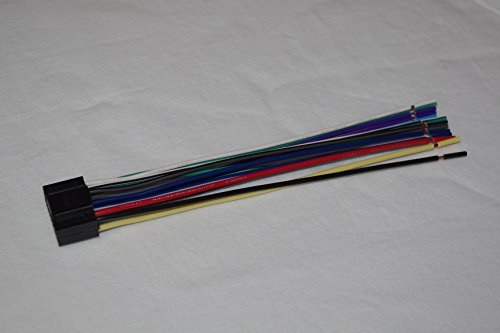 41mTc6Nd%2BTL amazon com wire harness for kenwood models ddx371, kdc bt318u kenwood kdc-bt310u wiring harness at panicattacktreatment.co