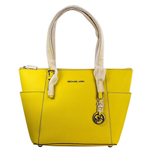 MICHAEL Michael Kors Jet Set Top-Zip Tote, Color Sunflower by MICHAEL Michael Kors
