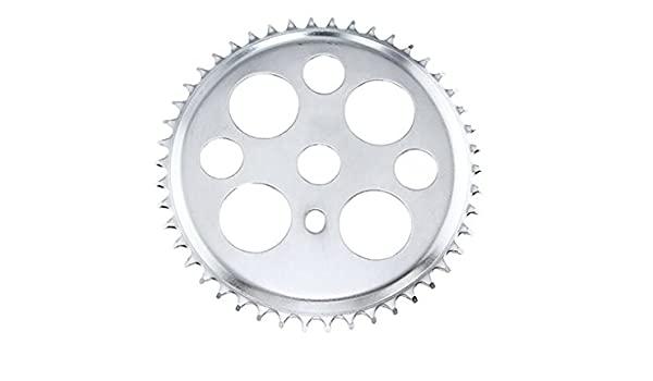 ORIGINAL LOWRIDER BICYCLE CHAINRING LUCKY 7 44t 1//2 X 1//8 Black LOWRIDER BIKE