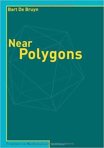 ladata Near Polygons (Frontiers in Mathematics) B00BDK6OSS PDF