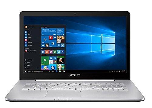 """87 opinioni per Asus N752VX-GC133T Portatile, 17.3"""", Intel Core i7-6700HQ, RAM 16 GB, HDD da 1"""