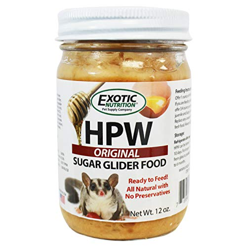Exotic Nutrition Sugar Glider HPW Diet Original 12 oz. Jar