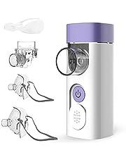 HYLOGY Nébuliseur Portable, Inhalateur Silencieux Vibrant Maille pour Enfants et Adultes