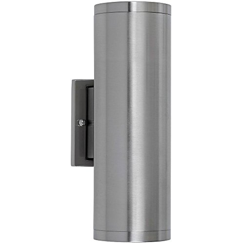 Modern 12 Light (Dual Upward and Downward Outdoor Modern Cylindrical LED Wall Light | 12