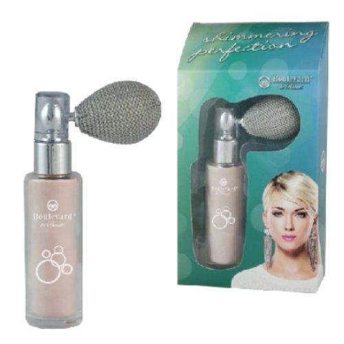 Shimmering Powder - Shimmer Glitzer Puder Spray für Körper, Hals, Dekollete und Gesicht
