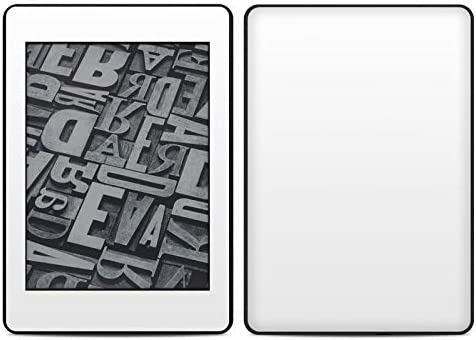 No Goo Wrap Solid State White  Kindle Paperwhite 2018 Full Vinyl Decal Easy to Apply Durable Pro