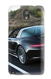 Hot Tpu Cover Case For Galaxy/ Note 3 Case Cover Skin - 2015 Porsche 911 Targa Black Pictures 9228092K73901440