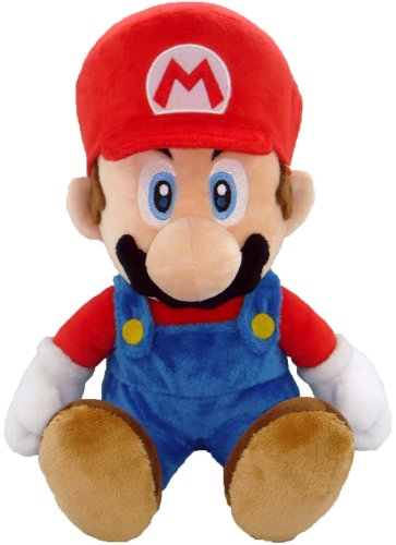 "Super Mario Plush - 11"" Large Mario Soft Stuffed Plush Toy Japanese Import"